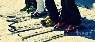 Photograph - Salt Lake City Ski Boots In Powder Snow by Patricia Awapara