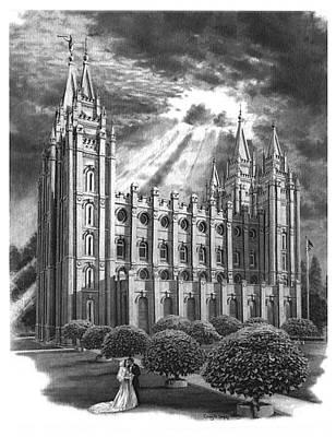 Salt Lake City Temple Original