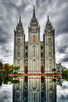 Salt Lake City Temple Art Print