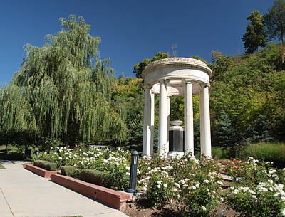 Photograph - Salt Lake Great War Memorial Two by Joshua House