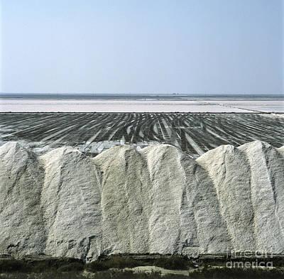 Horizon Over Sea Photograph - Salt Marsh by Bernard Jaubert