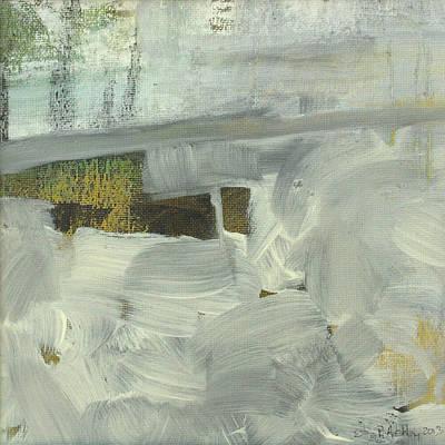 Art Print featuring the painting Salt Marsh C2013 by Paul Ashby