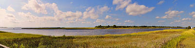 Photograph - Salt Marsh Morning - Southport by Paulette B Wright