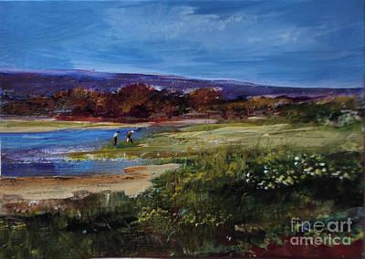 Painting - Salt Marsh Series 2 by Diane Ursin