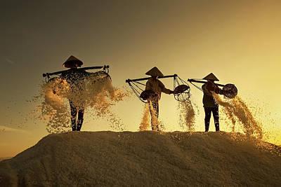 Salt Photograph - Salt by Nese Ari