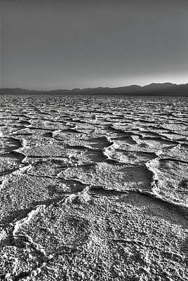 Death Valley Photograph - Salt Pan by David Andersen