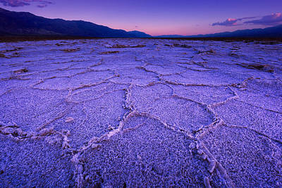 Photograph - Salt Patterns II by Giovanni Allievi