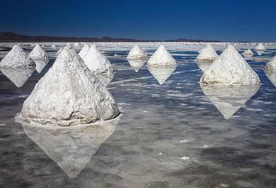 Salt Pyramids Art Print