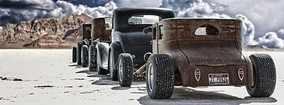 Bonneville Photograph - Salt Rats by Keith Berr