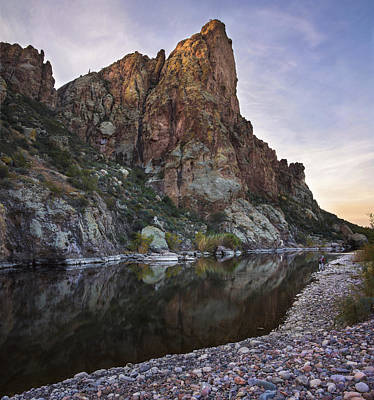 Arizona Photograph - Salt River Arizona Peak 4 by Dave Dilli