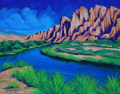 Painting - Salt River by Cheryl Fecht