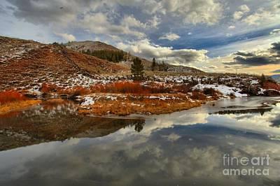 Photograph - Salt River Landscape by Adam Jewell