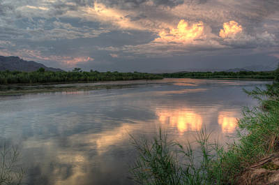 Photograph - Salt River Sunset by Tam Ryan