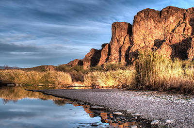 Photograph - Salt River by Tam Ryan