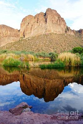 Photograph - Salt River Tranquility by Kerri Mortenson