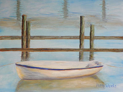 Painting - Salt Run Morning by Patty Weeks