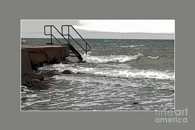 Digital Art - Salt Sea by Randi Grace Nilsberg