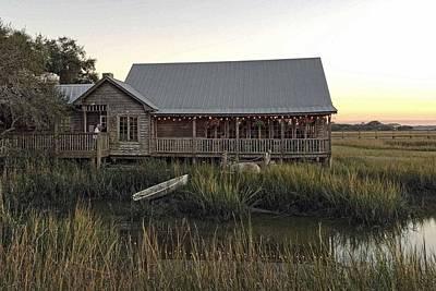 Photograph - Salt Water Cowboys Sunset by Keith Swango