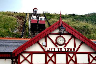 Photograph - Saltburn Lift To Town by Scott Lyons