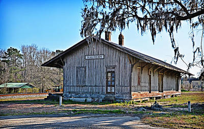 Linda Brown Photograph - Salters Depot by Linda Brown