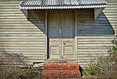 Art Print featuring the photograph Salters Doorway by Linda Brown