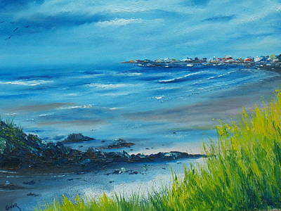 Painting - Salthill Galway by Conor Murphy