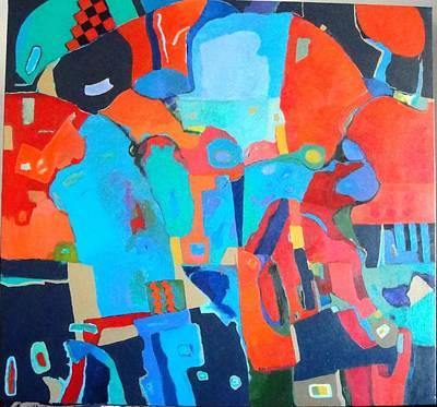 Art Print featuring the painting Saltillo Summers 2 by Bernard Goodman