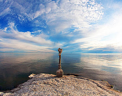 Space Photographs Of The Universe - Salton Sea by Diana Hughes