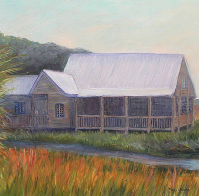 St. Augustine Florida Painting - Saltwater Cowboys by Patty Weeks