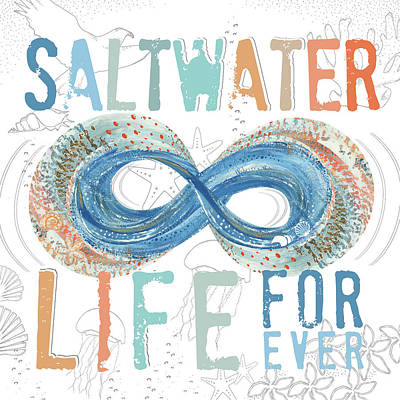 Forever Painting - Saltwater Life by Longfellow Designs