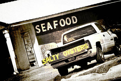 Louisiana Seafood Photograph - Salty Oysters by Scott Pellegrin