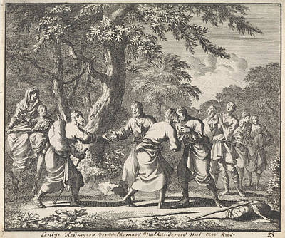 Salute Christian Travelers, Jan Luyken Art Print