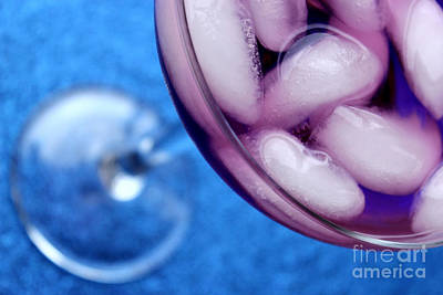Abstract Glass Photograph - Salud by Krissy Katsimbras