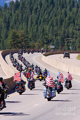Steven Krull Royalty-Free and Rights-Managed Images - Salute to Veterans Rally by Steven Krull