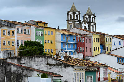 Photograph - Salvador Brazil The Magic Of Color by Bob Christopher