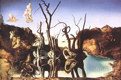 Salvador Dali Art Print by Christo Grudev
