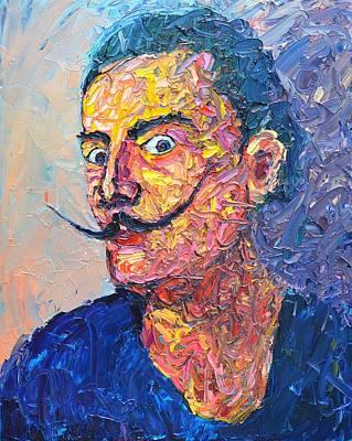 Salvador Dali Portrait Original