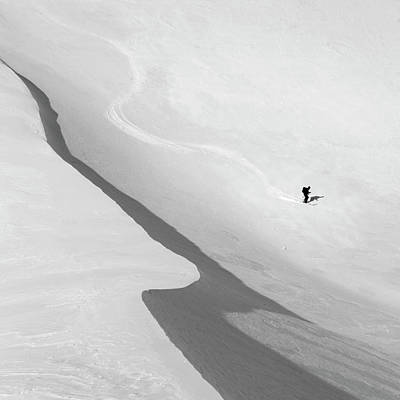 Skier Photograph - Salvation by Peter Svoboda, Mqep