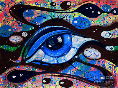 Painting - Salvato by Alice Alicja Cieliczka