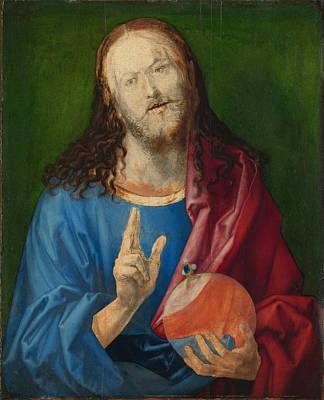 Painting - Salvator Mundi by Albrecht Duerer