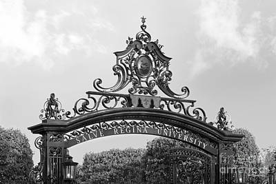Special Occasion Photograph - Salve Regina University Gate by University Icons