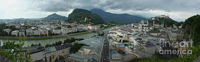 Photograph - Salzburg Austria Old Town by Gregory Dyer