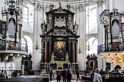 Photograph - Salzburg Cathedral by Elvis Vaughn