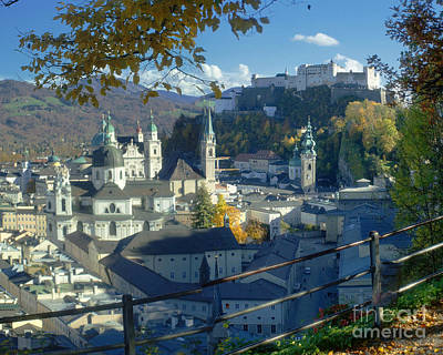 Photograph - Salzburg In Autumn 2 by Rudi Prott