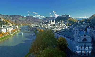 Photograph - Salzburg In Autumn by Rudi Prott
