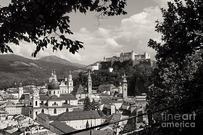Photograph - Salzburg Austria Old Town 2 by Rudi Prott