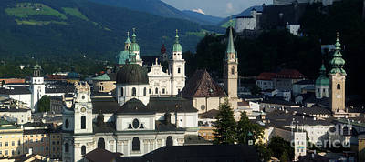 Photograph - Salzburg Panorama 10 by Rudi Prott