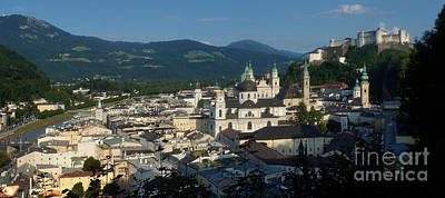 Photograph - Salzburg Panorama 11 by Rudi Prott