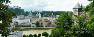 Photograph - Salzburg Panorama 5 by Rudi Prott