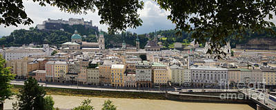 Photograph - Salzburg Panorama 6 by Rudi Prott